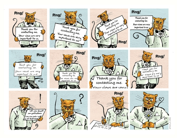 Image by Simon Russell - part of the DrawTheLine project at www.drawthelinecomics.com
