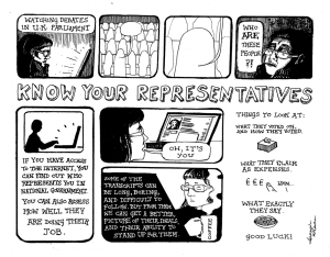 Image by Hannah McCann - part of the DrawTheLine project at www.drawthelinecomics.com
