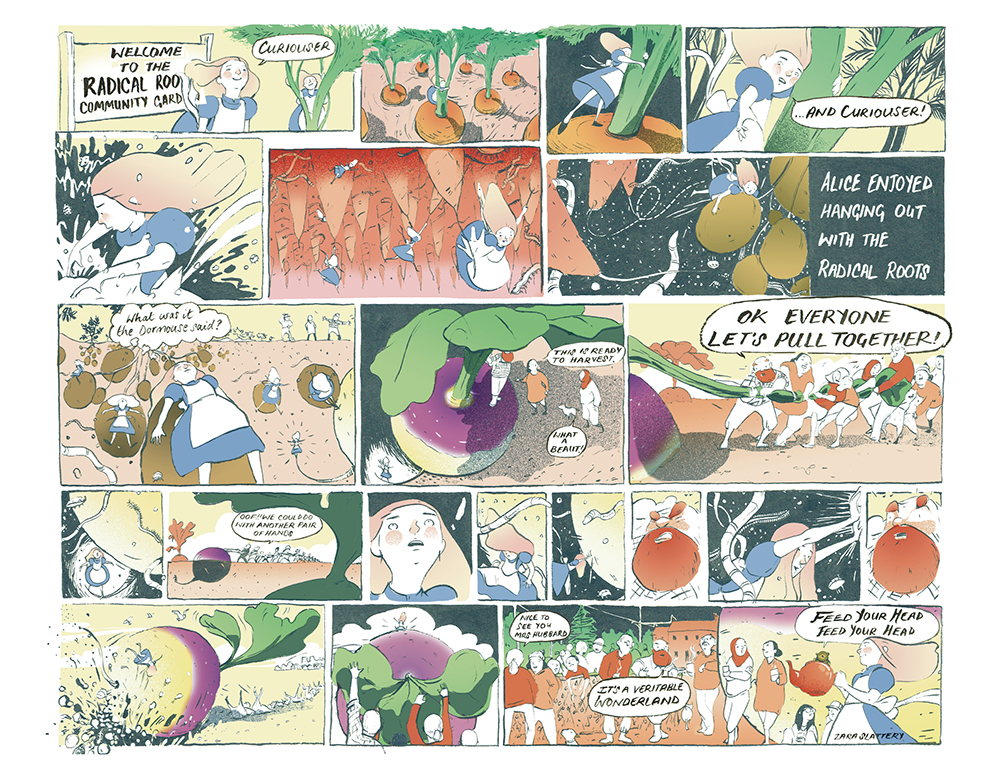 Save the world: actions that help the environment – Draw The