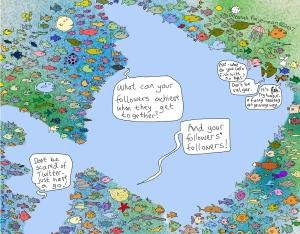 Image by Deborah Fajerman - part of the DrawTheLine project at www.drawthelinecomics.com