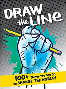 Draw The Line (2nd edition): book cover. Fist artwork by Karrie Fransman